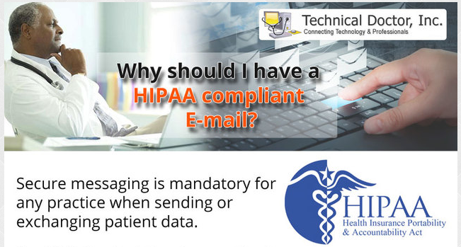 Ask us about HIPAA Complaint E-mail Today!