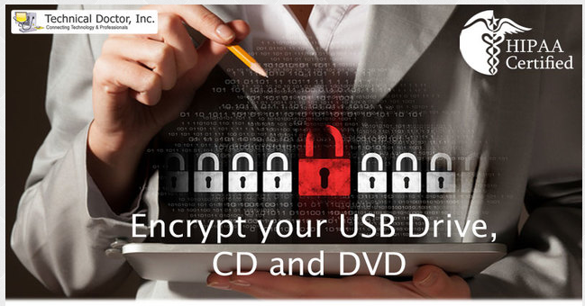 Encrypt your USB Drive, CD and DVD